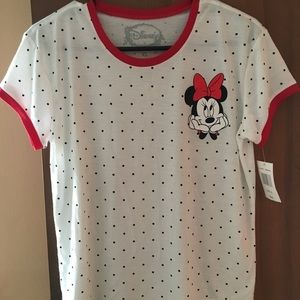 Minnie Mouse Polka Dot Tee